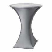 Statafel met designrok - grijs