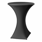 Statafelrok strak design Zwart