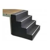 Podiumtrap  80 cm zwart